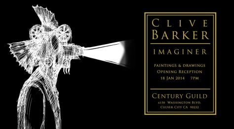 Clive Barker: IMAGINER.