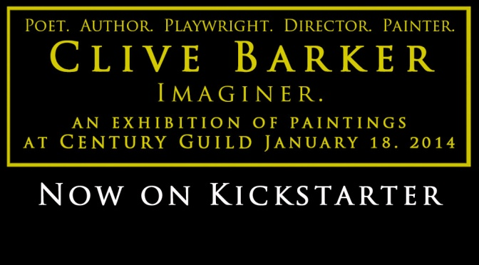The Art of Clive Barker at Century Guild in Los Angeles!