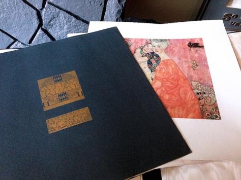 Gustav Klimt folio cover