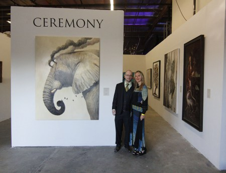 Thomas Negovan and Gail Potocki at Ceremony